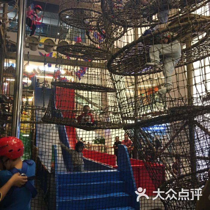 亚马逊王国儿童探险乐园图片-北京亲子乐园-大众点评网