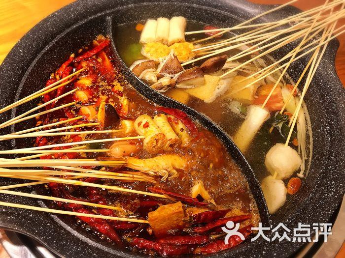 小扁担成都串串香火锅-图片-天津美食-大众点评网