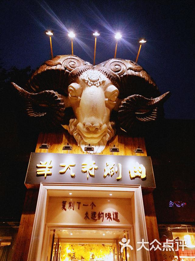 羊大爷涮肉坊(动物园店)门口招牌图片 - 第9张