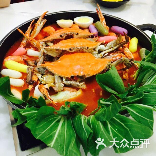 新明洞韩国年糕火锅-海鲜锅图片-乌鲁木齐美食-大众