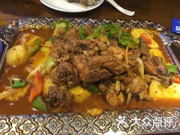 楼兰古丽新疆菜(大雁塔景观店)-大盘鸡图片-西安美食