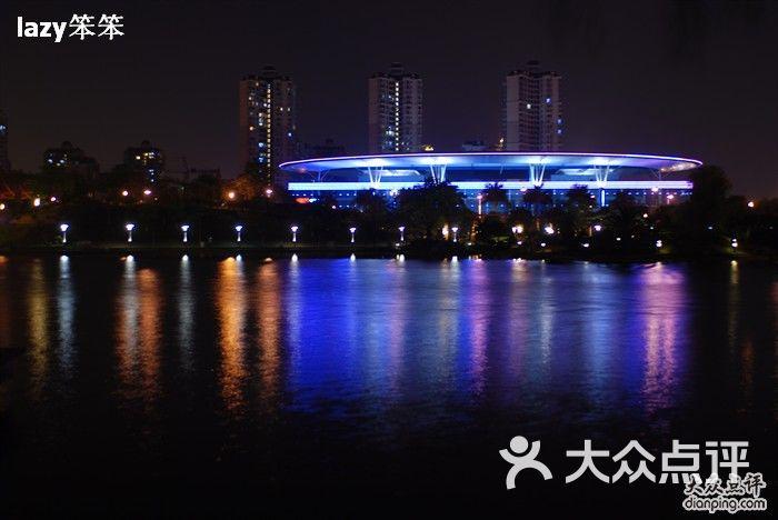 千灯湖公园 夜景照明图片 佛山景点
