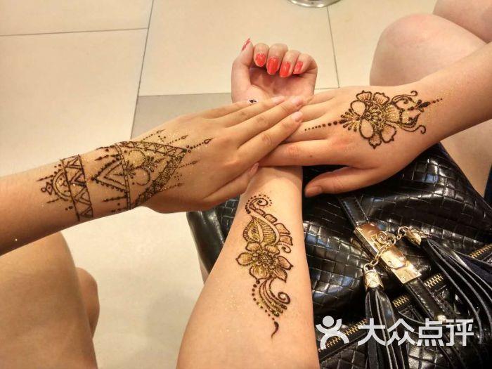 海娜(henna)手绘纹身图片 - 第46张