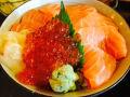 三文鱼定食