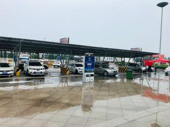 冠县服务区-停车场