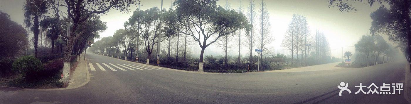 长岛庄园拓展基地-大门口图片-崇明县休闲娱乐-大众