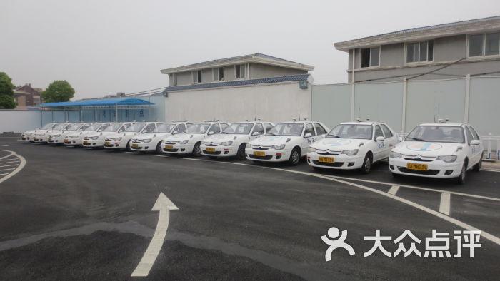 溧阳考场科三环岛照片