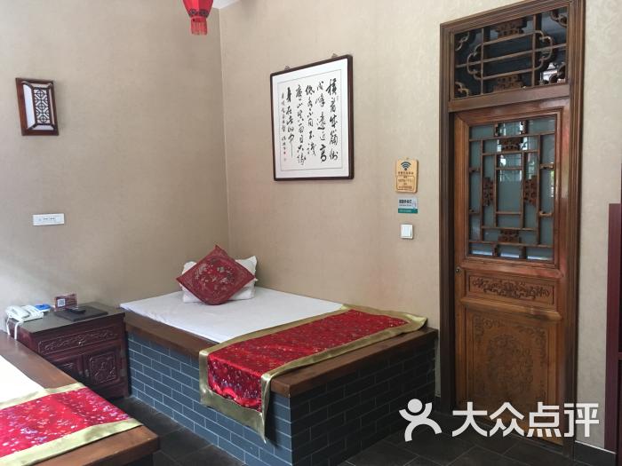 土炕大锅炖手绘墙画