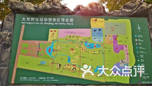 北京野生动物园-景区导览图-其他-景区导览图图片-游
