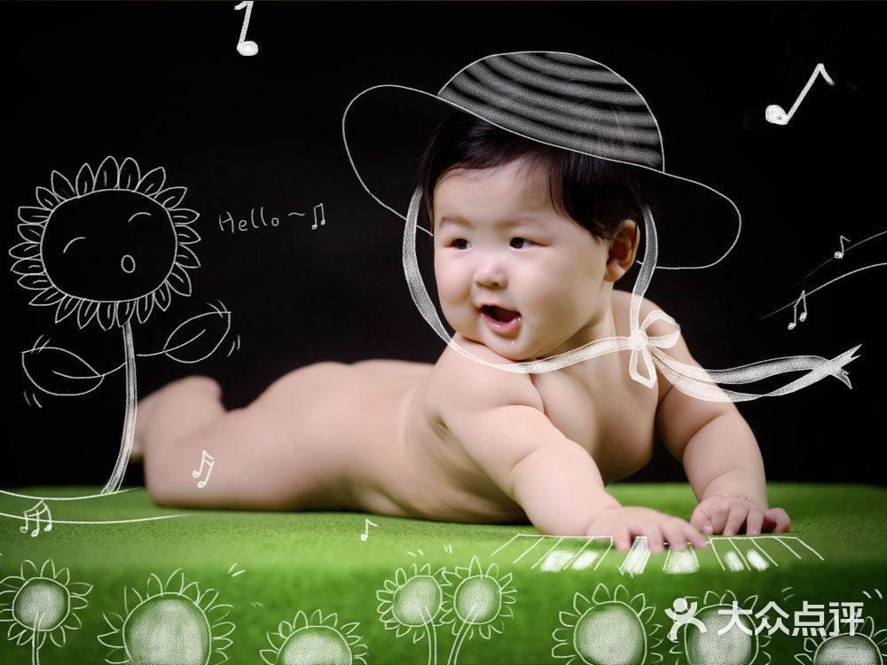 儿童摄影手绘素材