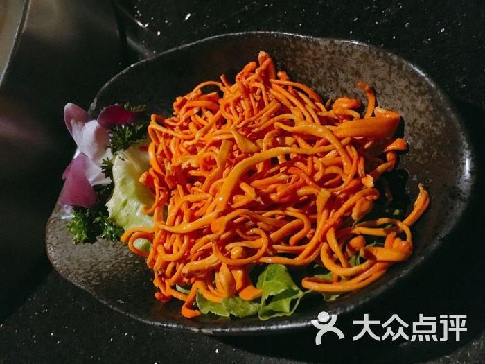 捞王锅物料理(巴黎春天淮海店)香甜虫草花图片 - 第1855张