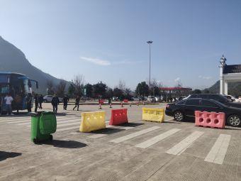 神仙居服务区-停车场