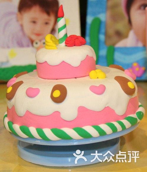 福宝贝智能手工体验馆-太空泥蛋糕图片-南阳休闲娱乐
