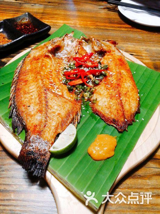 傣族香茅草烤罗非鱼型号保险丝雨燕图片
