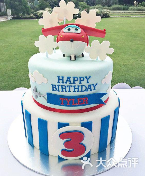 翻糖蛋糕-超级飞侠