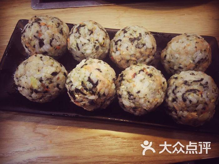 马福林奶奶韩国年糕火锅料理(金轮店)-金枪鱼饭团图片