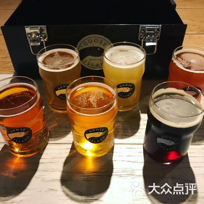 鹅岛精酿啤酒餐厅goose island brewhouse的点评