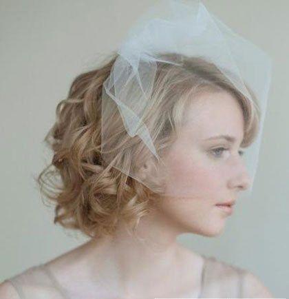 新娘子如果是短发应该怎样参加婚庆典礼