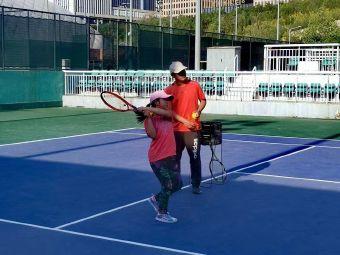 奥体中心室外网球场