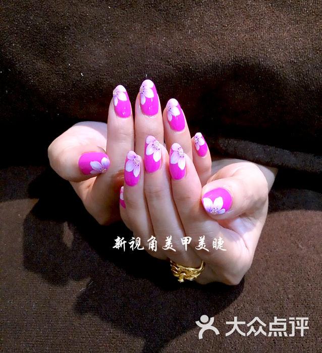 指甲手绘图片-北京丽人