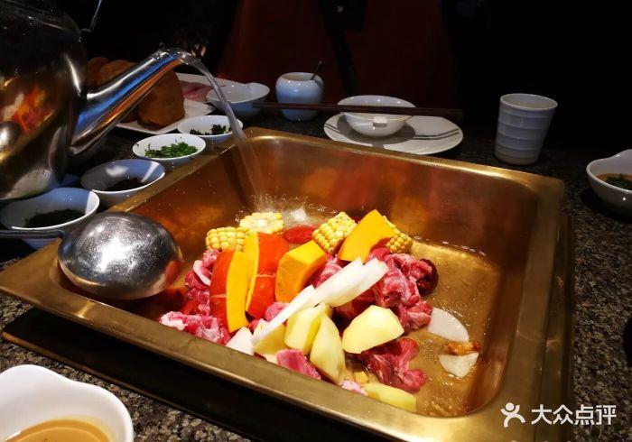 313羊庄·铁锅烀羊肉(王府井店)-羊肉火锅-菜-羊肉