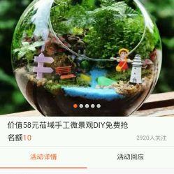 苮域手工微景观DIY