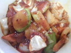 五花肉盖饭-韩国快餐