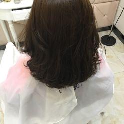 黑抹茶头发图片展示