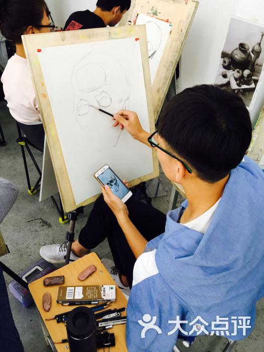 西美高考画室学生画画图片 - 第15张