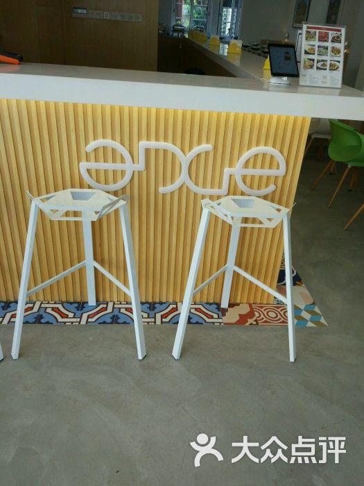 前台椅子立面手绘图
