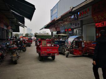 海霸王西部食品物流园停车场