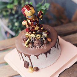 钢铁侠蛋糕图片
