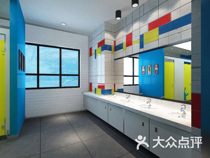 艾涂图乌鲁木齐澳龙中心-洗手间图片-乌鲁木齐学习