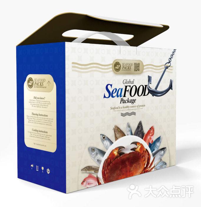 蟹状元海鲜礼盒图片