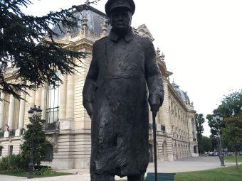 Statue de Winston Churchill