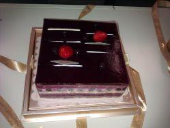 黑天鹅蛋糕的图片