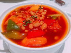 熹素·健康素食-菜-夏威夷木瓜番茄煲图片-广州