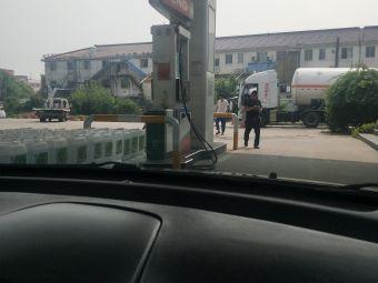 中国石化华润LNG加气站