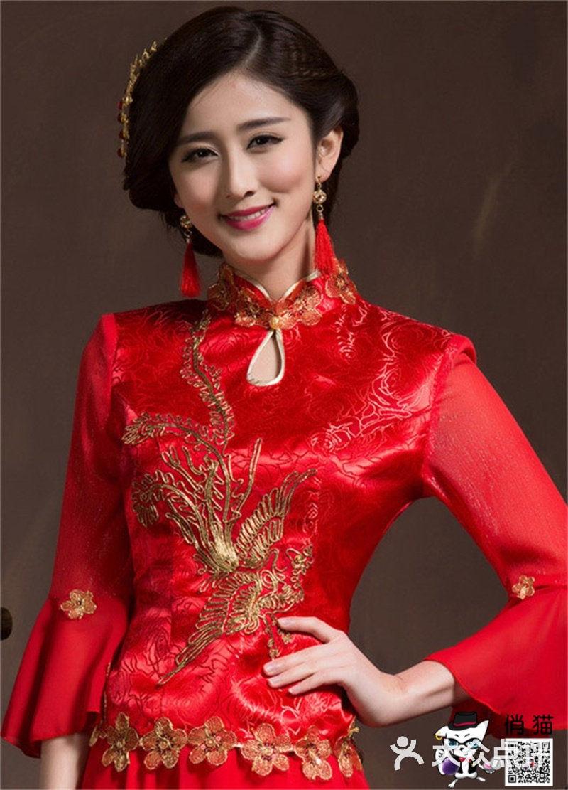 【中式新娘妆全日跟妆-结婚套餐】-俏猫化妆造型机构图片