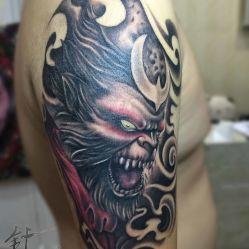 光谷针锋刺青(西班牙风情街店)-彩色纹身-武汉丽人