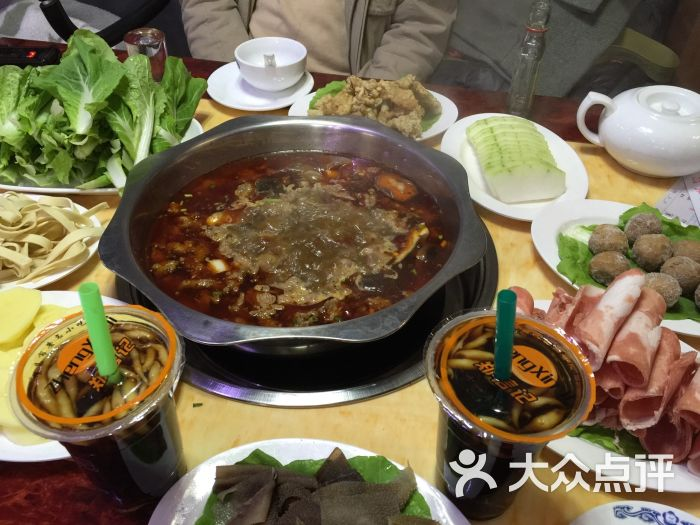 重庆宫廷牛肉火锅的点评