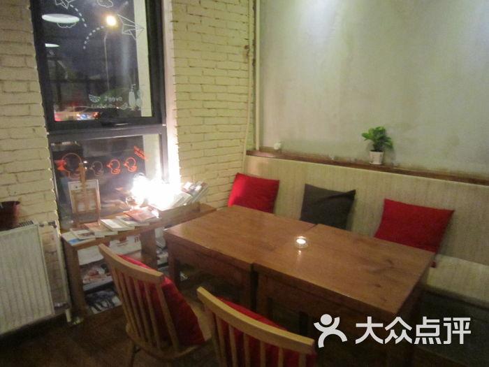 微型咖啡店设计图-微时光咖啡馆 店内一角图片