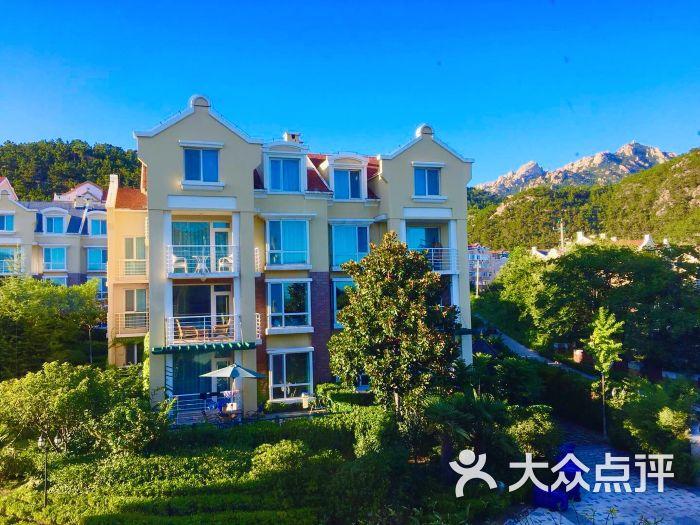 青岛曼谷别墅图片酒店-第1张崂山庄园沙滩图片