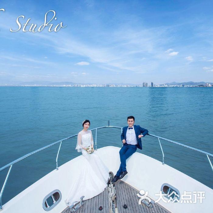 游艇婚纱摄影(十指扣studio)上海店图片