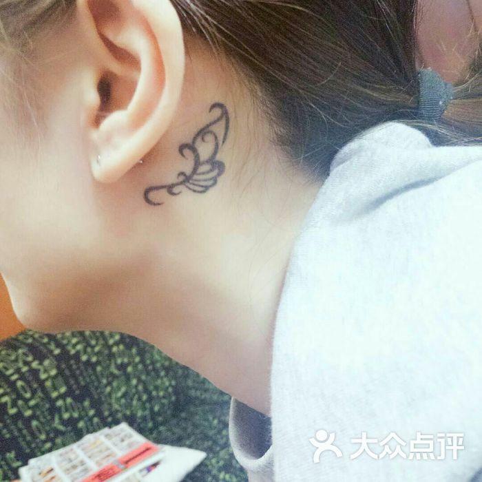 小部落无痛洗纹身半永久刺青脱毛图片