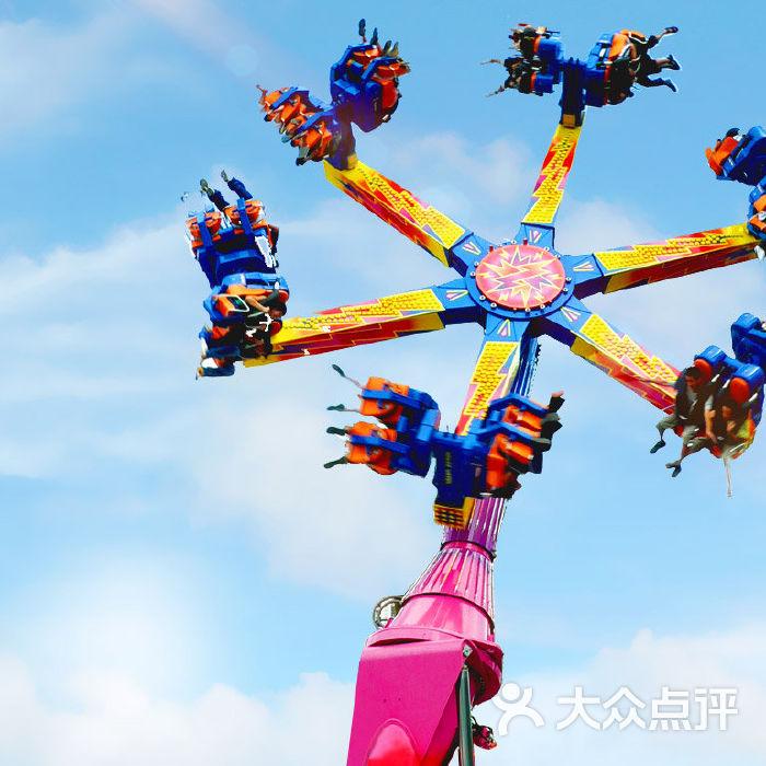 深圳欢乐谷欢乐风火轮图片-北京游乐园-大众点评网