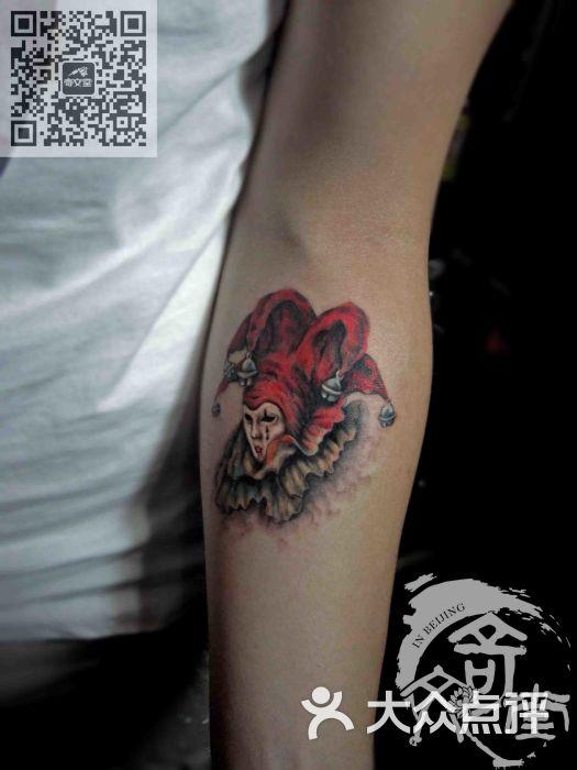 小丑纹身图案