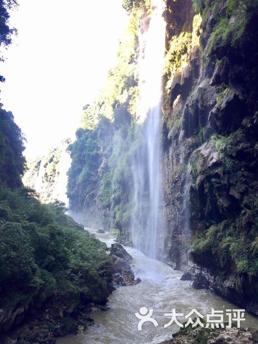 马岭河峡谷风景区图片 - 第2张