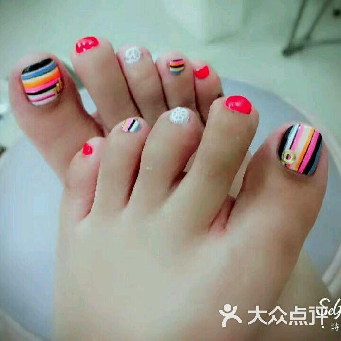 多多洛美甲龙猫主题店足部美甲图片-北京美甲-大众