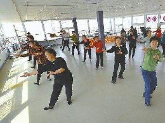横沙乡新北村老年活动室